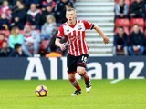 James Ward-Prowse in action during the Premier League game between Southampton and Middlesbrough on December 11, 2016