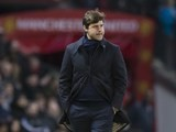 Mauricio Pochettino watches on during the Premier League game between Manchester United and Tottenham Hotspur on December 11, 2016