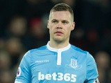 Stoke City captain Ryan Shawcross in action during his side's Premier League clash with Liverpool at Anfield on December 27, 2016