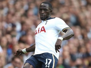 Moussa Sissoko in action for Tottenham Hotspur on September 17, 2016
