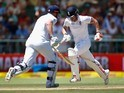 Ben Stokes and Jonny Bairstow in action on day two of the second Test between South Africa and England on January 3, 2016