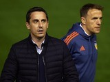 Gary Neville and Phil Neville - aka