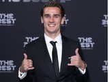 Antoine Griezmann at the Best FIFA Football Awards on January 9, 2017