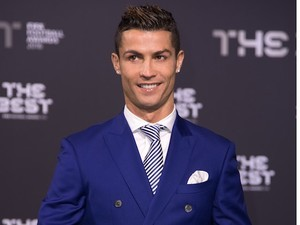 Cristiano Ronaldo at the Best FIFA Football Awards on January 9, 2017