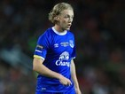 Tom Davies in action for Everton on August 3, 2016