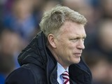 David Moyes watches on during the Premier League game between Everton and Sunderland on February 25, 2017