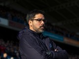 Huddersfield Town manager David Wagner watches on during his side's FA Cup fifth round clash with Manchester City at the John Smith's Stadium on February 18, 2017