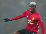 Manchester United midfielder Paul Pogba in action during his side's FA Cup fifth round clash with Blackburn Rovers at Ewood Park on February 19, 2017