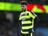 Philip Billing in action during the FA Cup replay between Manchester City and Huddersfield Town on March 1, 2017