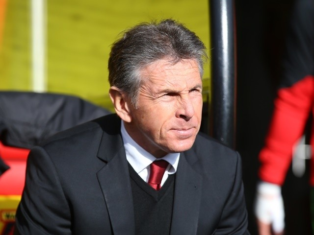 Southampton manager Claude Puel at the Premier League match against Watford on March 4, 2017
