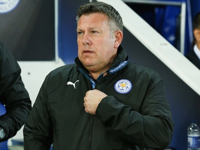 Leicester City manager Craig Shakespeare on March 14, 2017