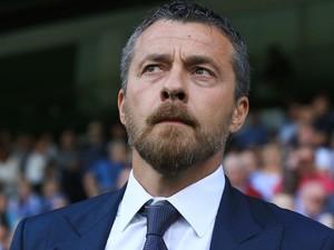 Fulham manager Slavisa Jokanovic pictured on August 5, 2016