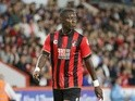 Bournemouth's Max Gradel during a friendly fixture against Valencia on August 3, 2016