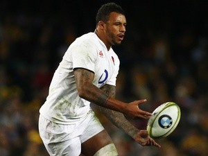 Courtney Lawes of England in action against Australia on June 25, 2016