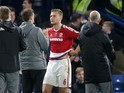 Ben Gibson after the Premier League game between Chelsea and Middlesbrough on May 8, 2017