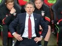 Southampton manager Claude Puel during the Premier League match against Arsenal on May 10, 2017