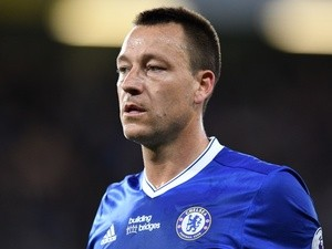 Chelsea's John Terry during the Premier League match against Watford on May 15, 2017