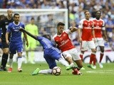 N'Golo Kante tackles Alexis Sanchez during the FA Cup final between Arsenal and Chelsea on May 27, 2017