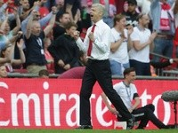 Arsenal manager Arsene Wenger after the FA Cup final victory over Chelsea on May 27, 2017