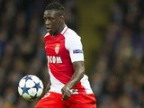 AS Monaco's Benjamin Mendy in action against Manchester City on February 21, 2017