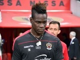 Mario Balotelli in action for Nice against Paris Saint-Germain on April 30, 2017