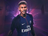 Neymar pictured in PSG gear