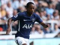 Kyle Walker-Peters in action during the Premier League game between Newcastle United and Tottenham Hotspur on August 13, 2017