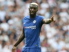 Tiemoue Bakayoko in action during the Premier League game between Tottenham Hotspur and Chelsea on August 20, 2017