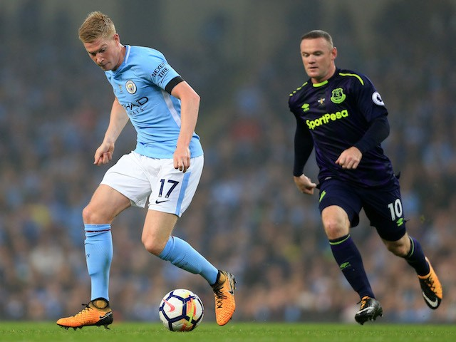 Image result for de bruyne v everton 2017