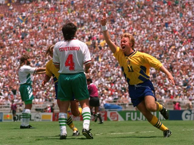 Image result for sweden vs bulgaria world cup 1994