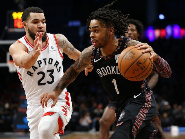 9cfba657fcdc Result  D Angelo Russell and Jarrett Allen down Toronto Raptors ...
