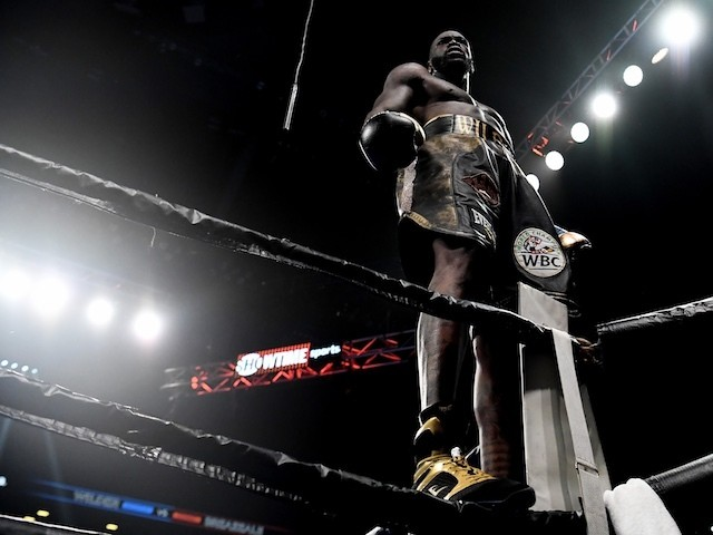 Deontay Wilder Sets Sights On Anthony Joshua After Dominic Breazeale
